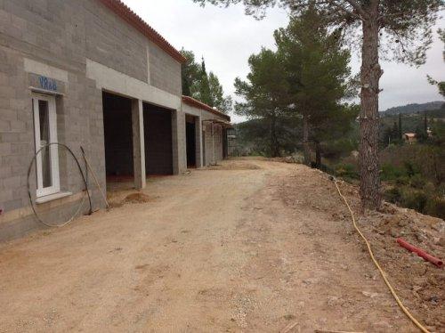 Vue du bâtiment avant coulage de la dalle