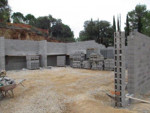 Domaine Cirrus - chantier novembre 2017