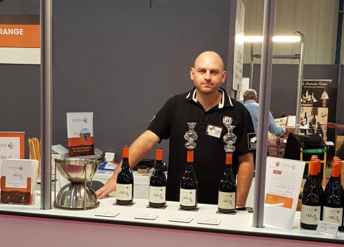 Paul Rapacz au Salon Vins et Terroirs de Toulouse 2019