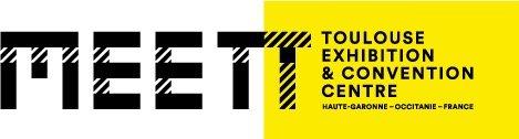 logo du centre des expositions de Toulouse MEETT