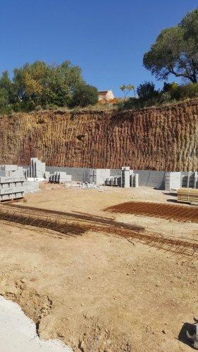 Domaine Cirrus - les travaux continuent à la cave de Durban - septembre 2017